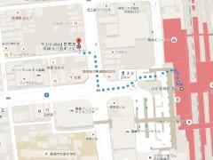 iPhone修理のiPhoneお直し本舗 群馬県高崎店の道案内01